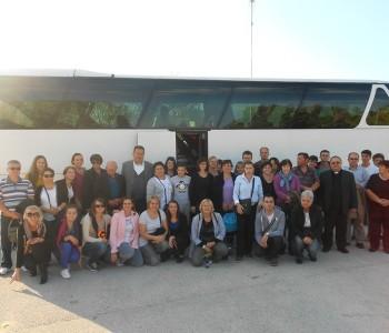 Župljani župe Voloder posjetili Franjevački samostan na Šćitu