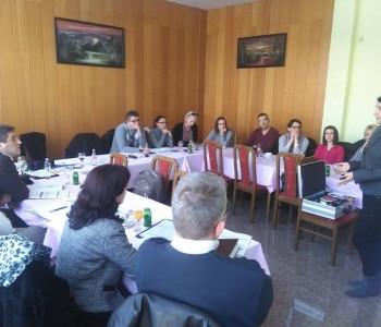 Danas u motelu Rama održano predavanje: PR i komunikacije
