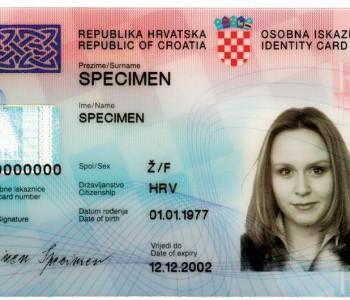 Pravo na hrvatsku osobnu iskaznicu imaju svi hrvatski državljani bez obzira na prebivalište