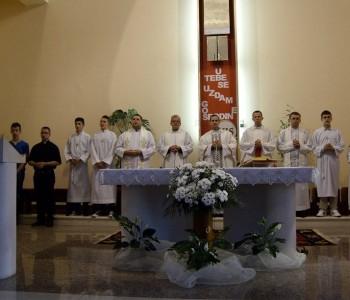 Priprava za Mladu misu don Maria Juričevića