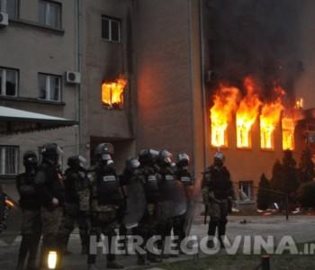 Policija objavila imena osoba koje su zapalile Mostar u veljači