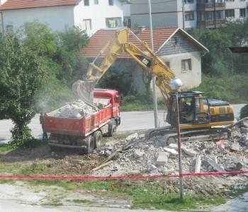 Prozor : Započeli pripremni radovi za rekonstrukciju grada