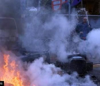Gori u Frankfurtu: Prosvjednici se digli zbog skupe zgrade banke