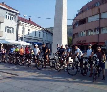 Ramski hodočasnik biciklist Vlado Kudić: Nalazimo se u Livnu i krećemo dalje prema Sinju