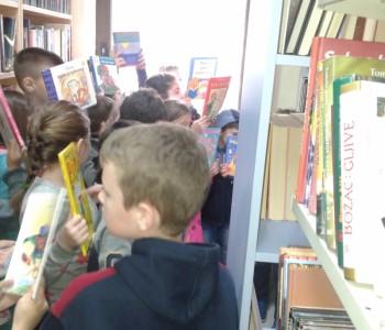 Učenici OŠ Alije Isakovića posjetili Narodnu knjižnicu Rama