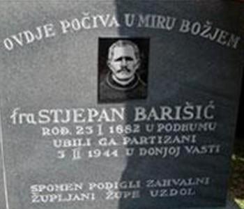 Najava: 17. hodočašće na grob fra Stjepanu Barešiću