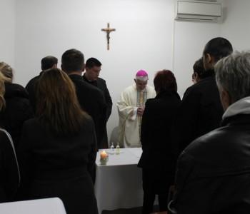 Na Uskrsno jutro dubrovački biskup podijelio sakramenat krizme dvojici zatvorenika