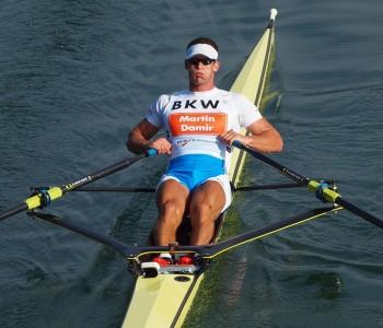 Damir Martin,europski prvak u skifu, opet na pripremama na Ramskom jezeru