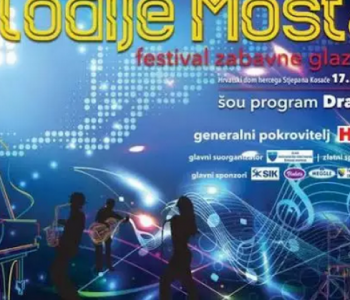 Večeras u Kosači 21. izdanje festival zabavne glazbe Melodije Mostara