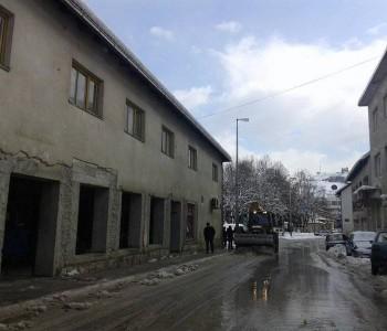 Akcija čišćenja snijega u Prozoru