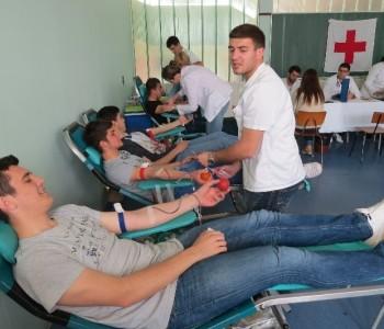 FOTO: Uspješno provedena akcija darivanja krvi u Prozoru